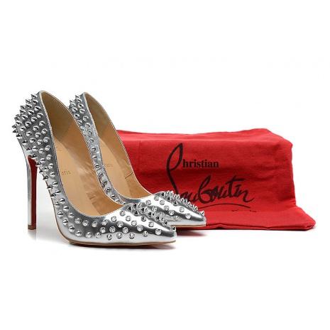 christian louboutin 12cm High-heeled shoes #108400 replica