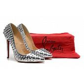christian louboutin 12cm High-heeled shoes #108400