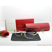 cartier  plain glasses #147912