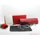 cartier  plain glasses #206326