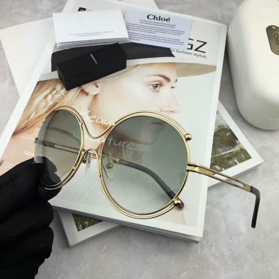 CHLOE AAA+ Sunglasses #278696 replica
