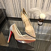 Christian Louboutin 10cm high-heeles shoes for women #305098