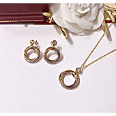 Cartier Earring Necklace 2 Sets #317092