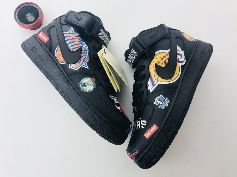 Supreme x NBA x Nike Air Force 1 AF1 shoes for men #331925 replica