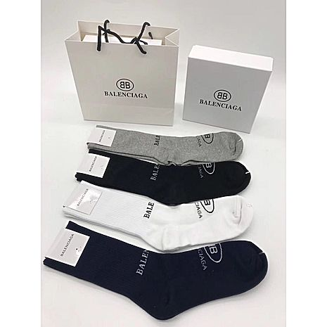 Balenciaga 4pcs Socks #337359