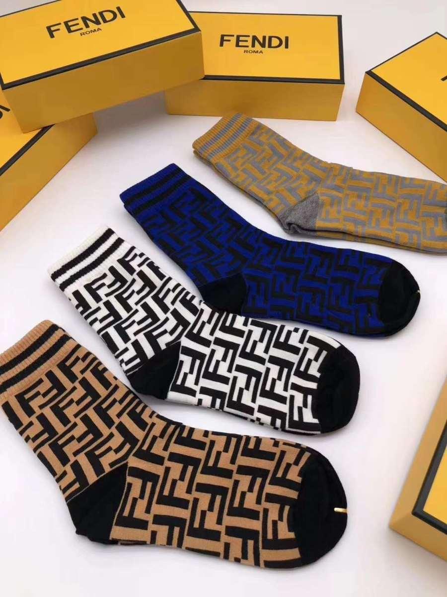 Fendi  4pcs Socks #338742 replica