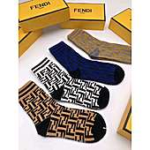 Fendi  4pcs Socks #338742