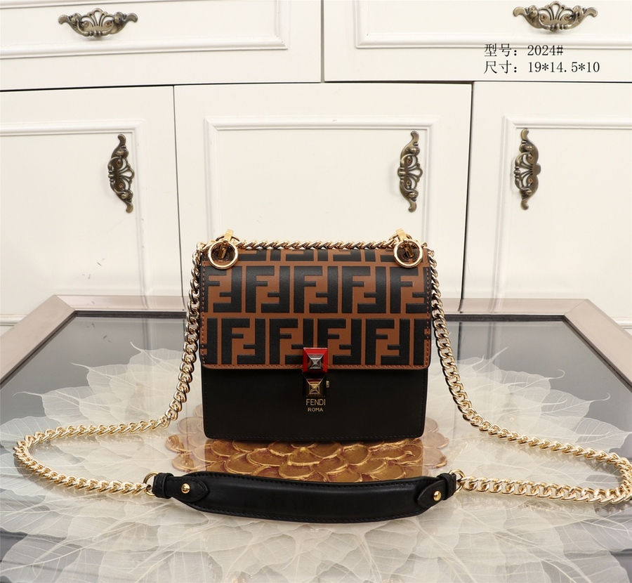Fendi AAA+ handbags #340568 replica