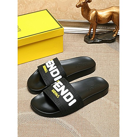 Fendi shoes for Fendi Slippers for men #351841