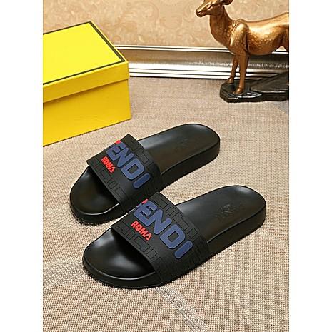 Fendi shoes for Fendi Slippers for men #351843