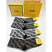 Fendi 4pcs Socks #356090