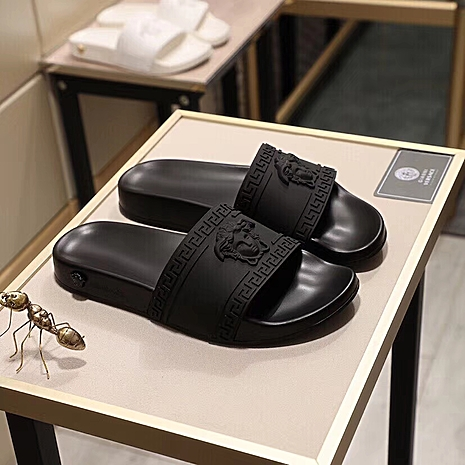 Versace shoes for versace Slippers for men #359208