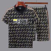 Fendi Tracksuits for Fendi Short Tracksuits for men #363860