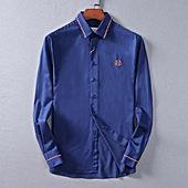 HERMES shirts for HERMES long sleeved shirts for men #370745