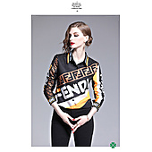 Fendi Shirts for Fendi Long-Sleeved Shirts for women #372764