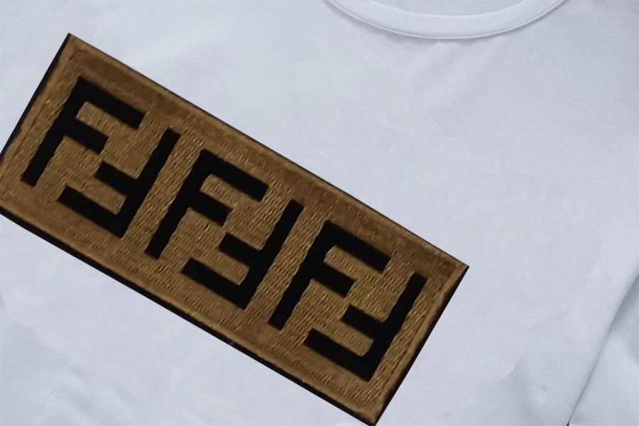 Fendi Long-Sleeved T-Shirts for MEN #379737 replica