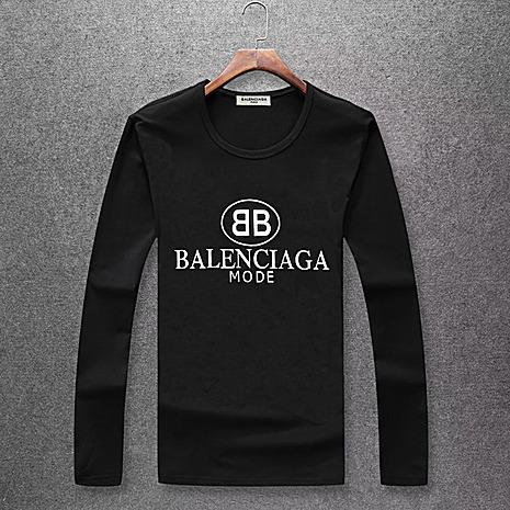 Balenciaga Long-Sleeved T-Shirts for Men #382278