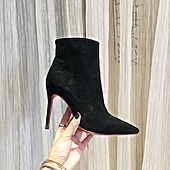 Christian Louboutin 10cm high heeled shoes for women #388067