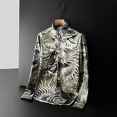 D&G Shirts for D&G Long-Sleeved Shirts For Men #395184