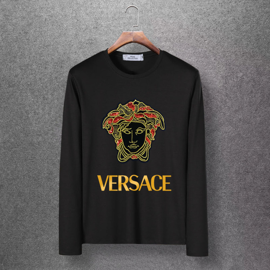 Versace Long-Sleeved T-Shirts for men #393975 replica