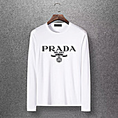 Prada Long-sleeved T-shirts for Men #391472