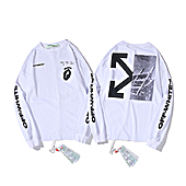 OFF WHITE T-Shirts for OFF WHITE  Long-sleevsd T- shierts for men #399745