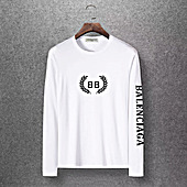 Balenciaga Long-Sleeved T-Shirts for Men #400335