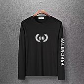 Balenciaga Long-Sleeved T-Shirts for Men #400339