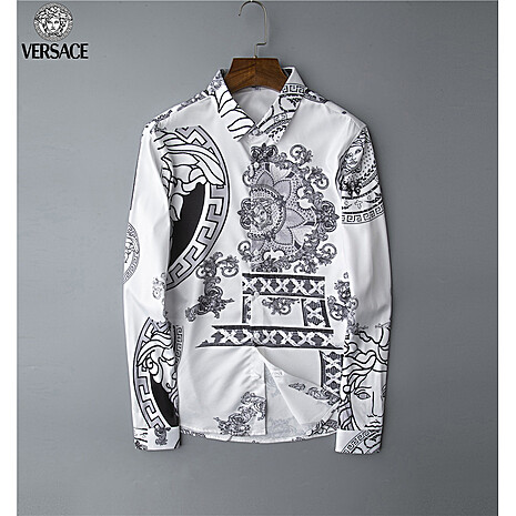Versace Shirts for Versace Long-Sleeved Shirts for men #408904