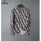 Fendi Shirts for Fendi Long-Sleeved Shirts for men #408843