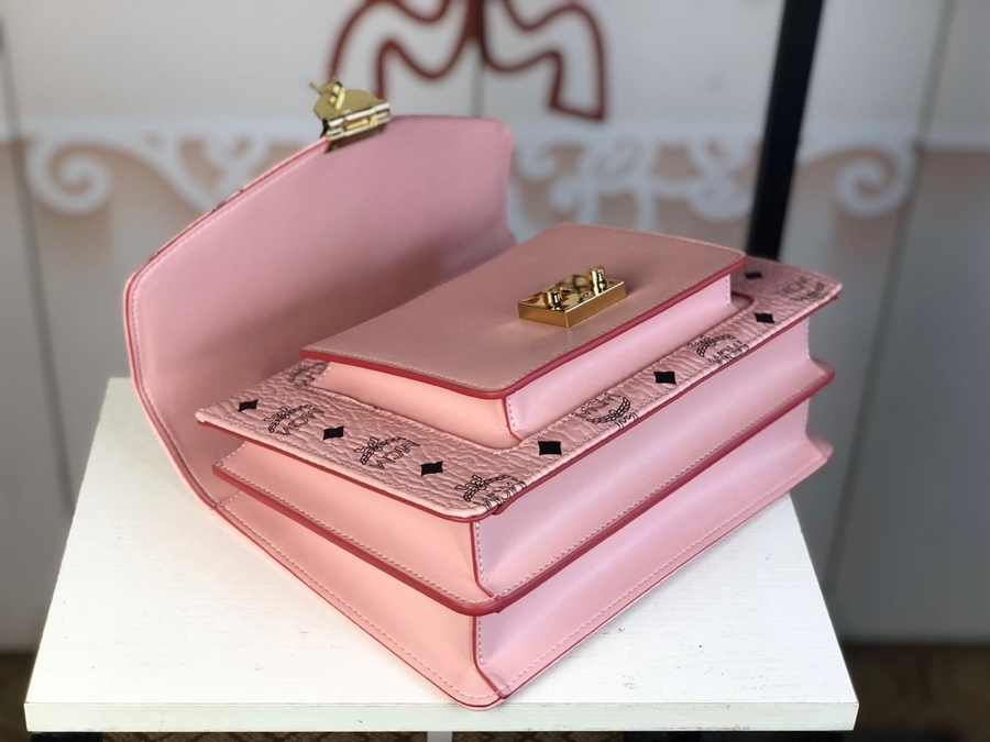 MCM AAA+ Handbags #414045 replica