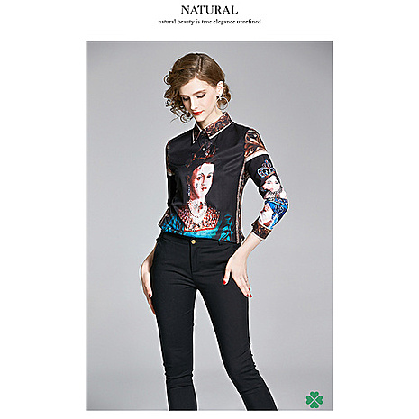 D&G Shirts for D&G Long-sleeved shirts for women #416917