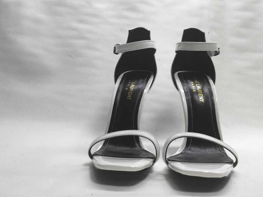 YSL 10.5cm high-heeles shoes for women #420402 replica