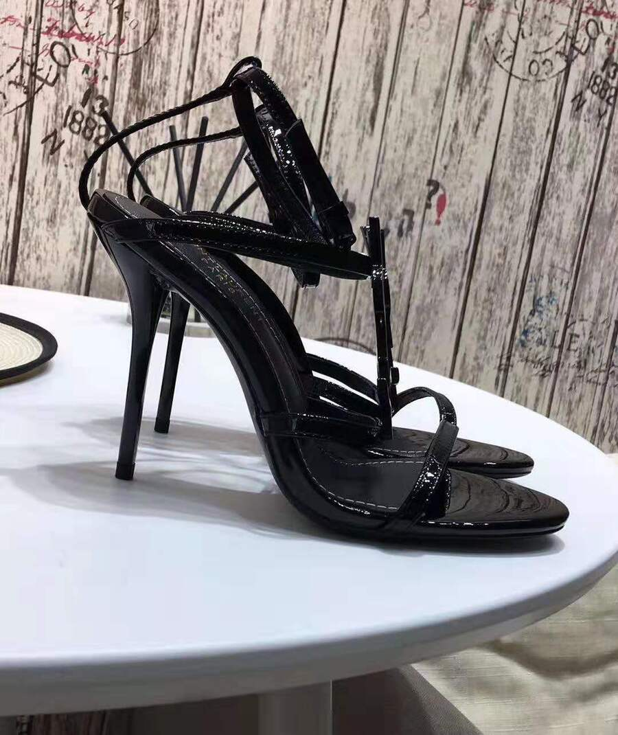 YSL 10.5cm high-heeles shoes for women #420404 replica