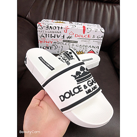 D&G Shoes for Men's D&G Slippers #423154