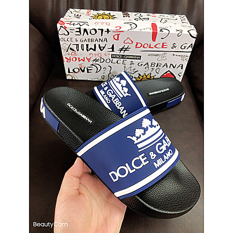 D&G Shoes for Men's D&G Slippers #423155