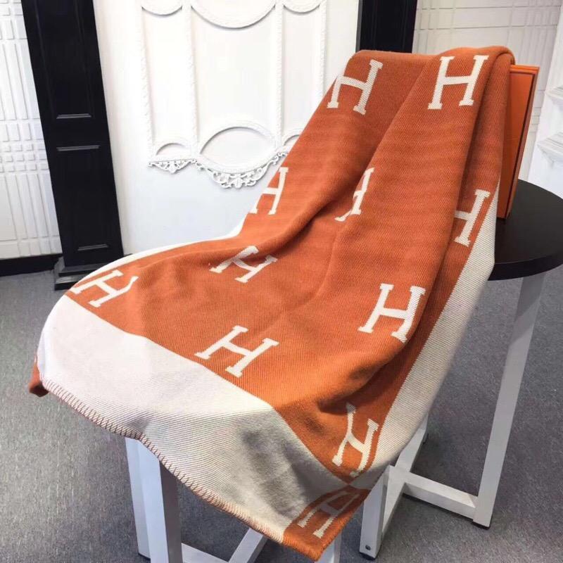HERMES Woolen Blanket #424692 replica