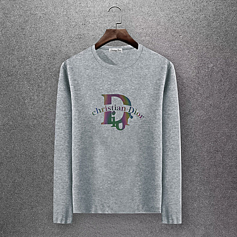 Dior Long-sleeved T-shirts for men #430155 replica