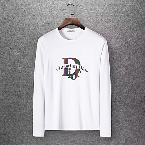Dior Long-sleeved T-shirts for men #430156 replica