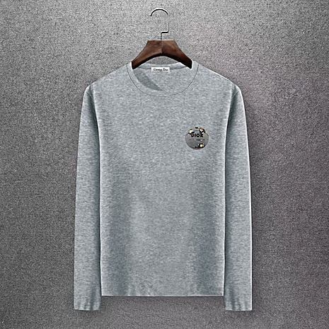 Dior Long-sleeved T-shirts for men #430158 replica