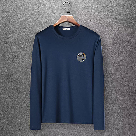 Dior Long-sleeved T-shirts for men #430160 replica