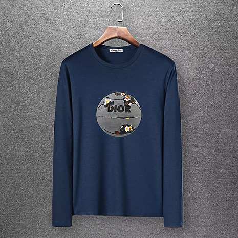 Dior Long-sleeved T-shirts for men #430161 replica
