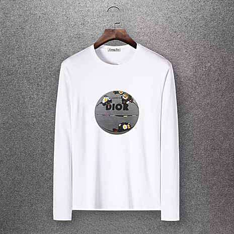 Dior Long-sleeved T-shirts for men #430164 replica