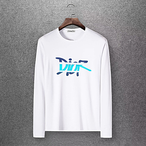 Dior Long-sleeved T-shirts for men #430165 replica