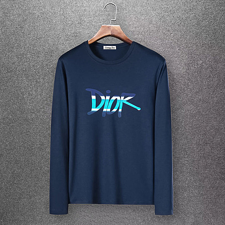 Dior Long-sleeved T-shirts for men #430168 replica