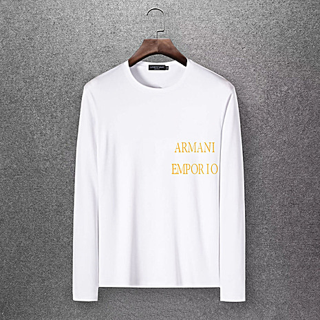 Armani Long-Sleeved T-shirts for Men #430243 replica
