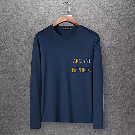 Armani Long-Sleeved T-shirts for Men #430245 replica