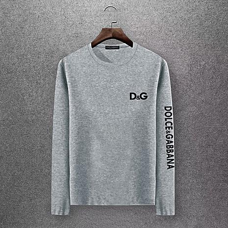 D&G Long Sleeved T-shirts for Men #430330 replica