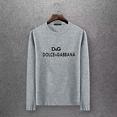D&G Long Sleeved T-shirts for Men #430339 replica