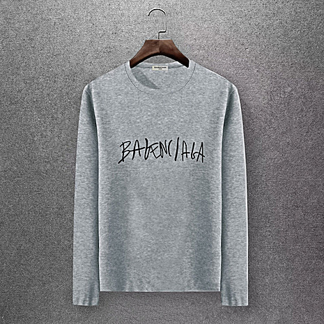 Balenciaga Long-Sleeved T-Shirts for Men #430420 replica
